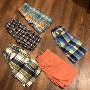 Five pair of size 5/6 Shorts—-size 6